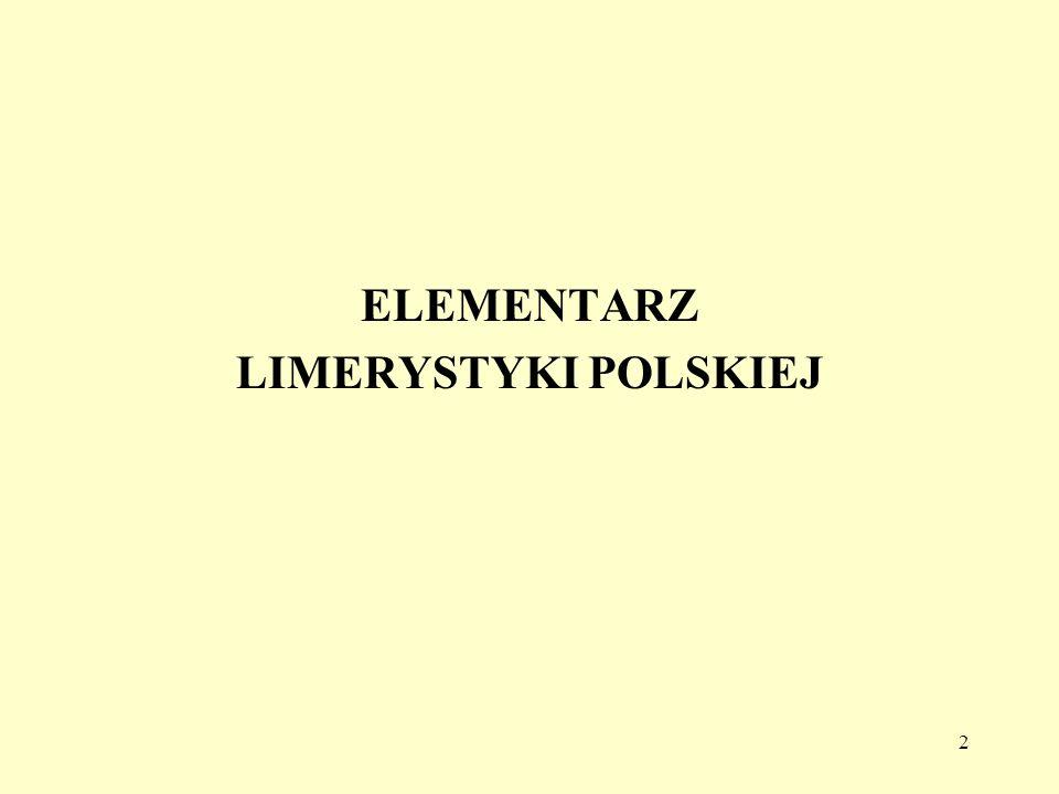 43 Rymy po polsku D 488.
