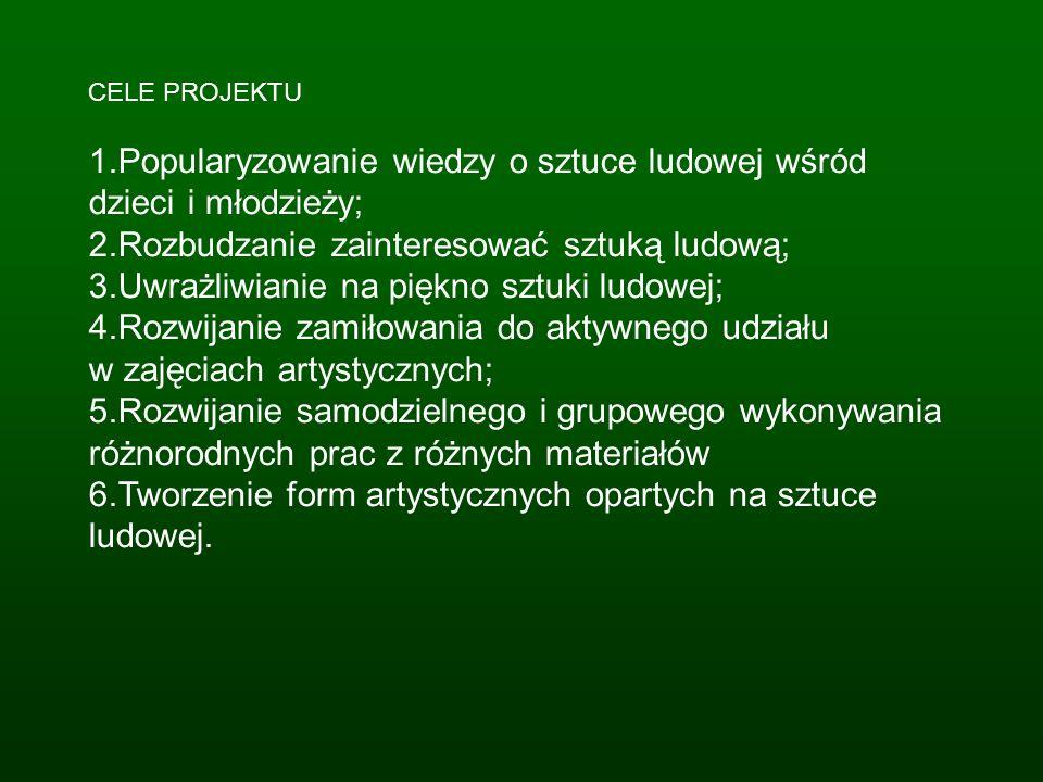 8. Wystawka prac konkursowych Wystawka prezentuje nagrodzone prace w konkursie Wycinanka Kurpiowska