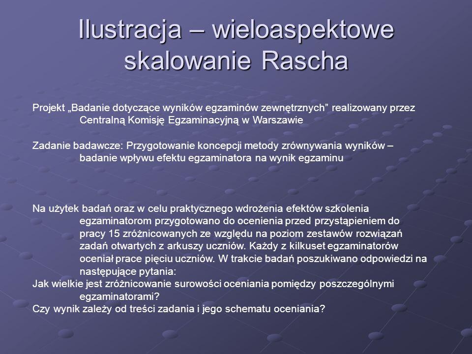 Projekt Badanie dotyczące wyników egzaminów zewnętrznych realizowany przez Centralną Komisję Egzaminacyjną w Warszawie Zadanie badawcze: Przygotowanie