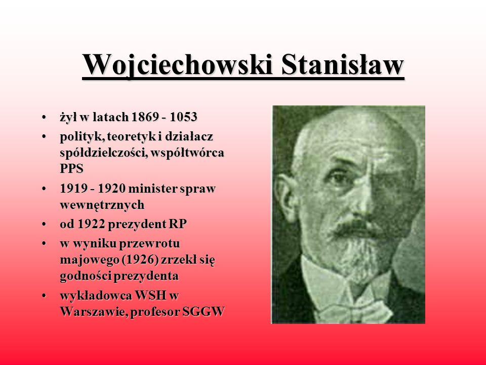 Narutowicz Gabriel żyłżył w latach latach 1965 - 1922 pierwszypierwszy prezydent RP 19201920 - 1921 minister robót publicznych 19221922 - minister spr