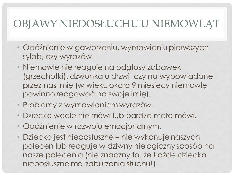 IMPLANTY ŚLIMAKOWE (CI) W Polsce systemy implantów ślimakowych stosowane są od prawie 20 lat, a łączna grupa użytkowników przekroczyła już 2000 osób.