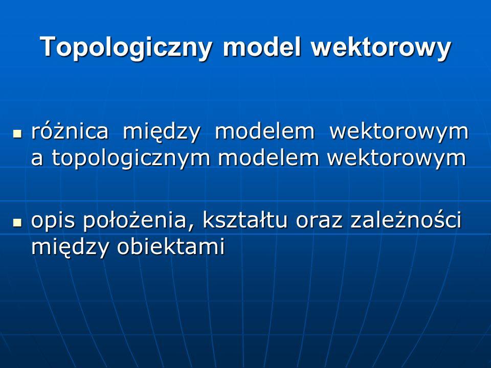 Topologiczny model wektorowy różnica między modelem wektorowym a topologicznym modelem wektorowym różnica między modelem wektorowym a topologicznym mo