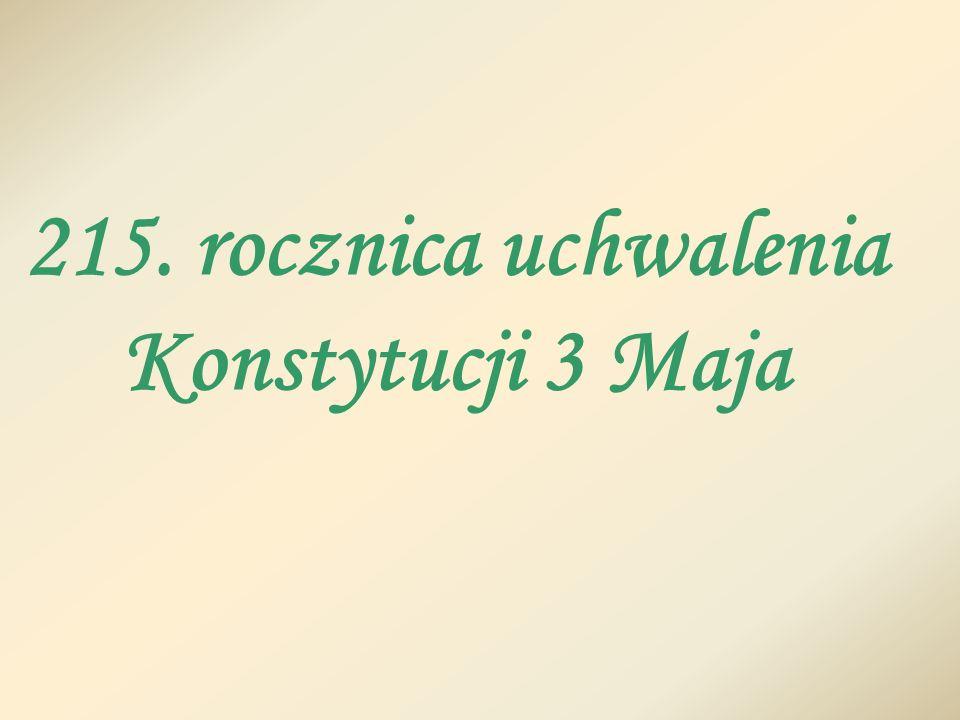 Kiedy Polska odzyskała niepodległość w 1918 r., dzień uchwalenia Konstytucji 3 Maja ogłoszono świętem narodowym, które obchodzimy po dzień dzisiejszy.