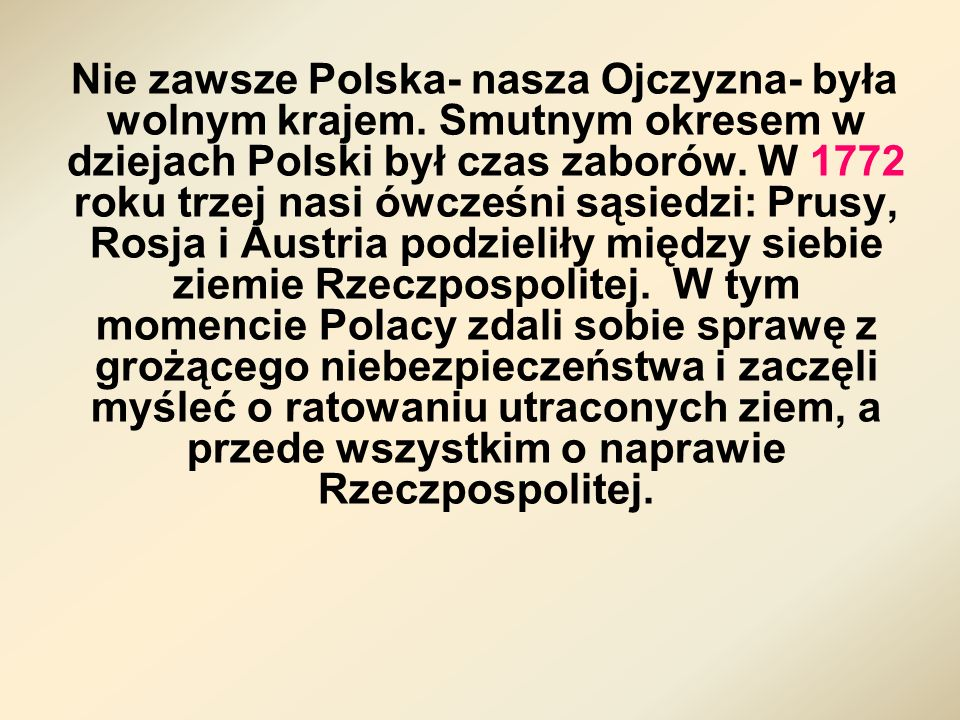 Poseł Tadeusz Rejtan, który nie chciał dopuścić do zatwierdzenia przez sejm I rozbioru Polski ( obraz Jana Matejki)