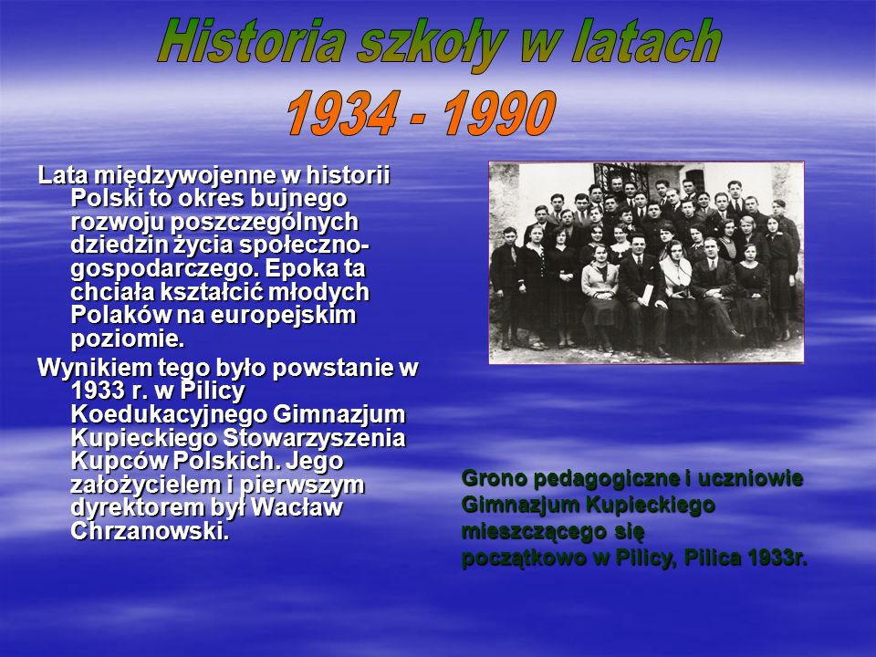 Lata międzywojenne w historii Polski to okres bujnego rozwoju poszczególnych dziedzin życia społeczno- gospodarczego.