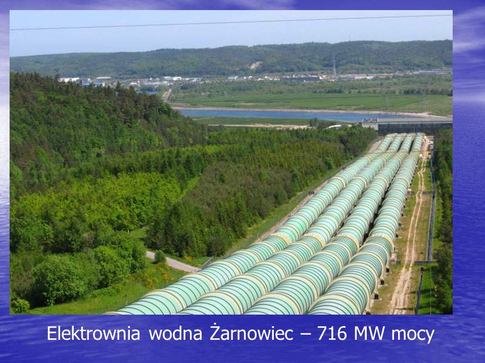 Elektrownia wodna Żarnowiec – 716 MW mocy