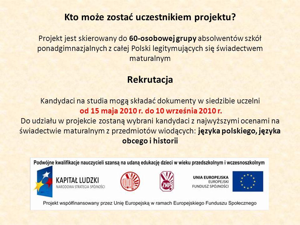 Kto może zostać uczestnikiem projektu.