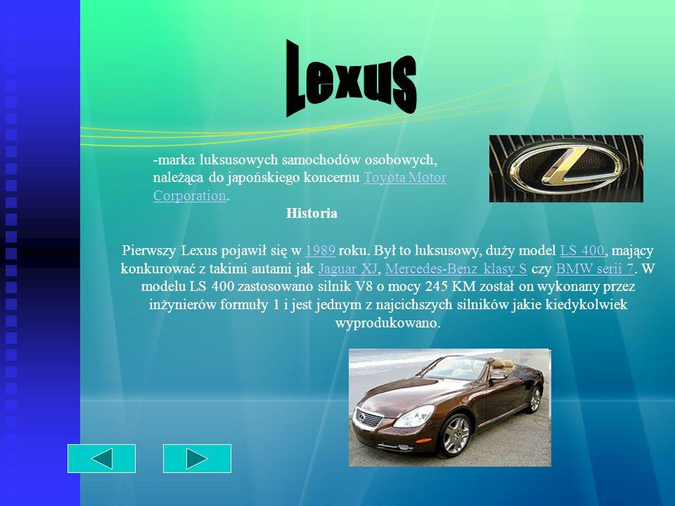 Marka sportowych samochodów osobowych produkowanych przez niemiecką firmę Dr.