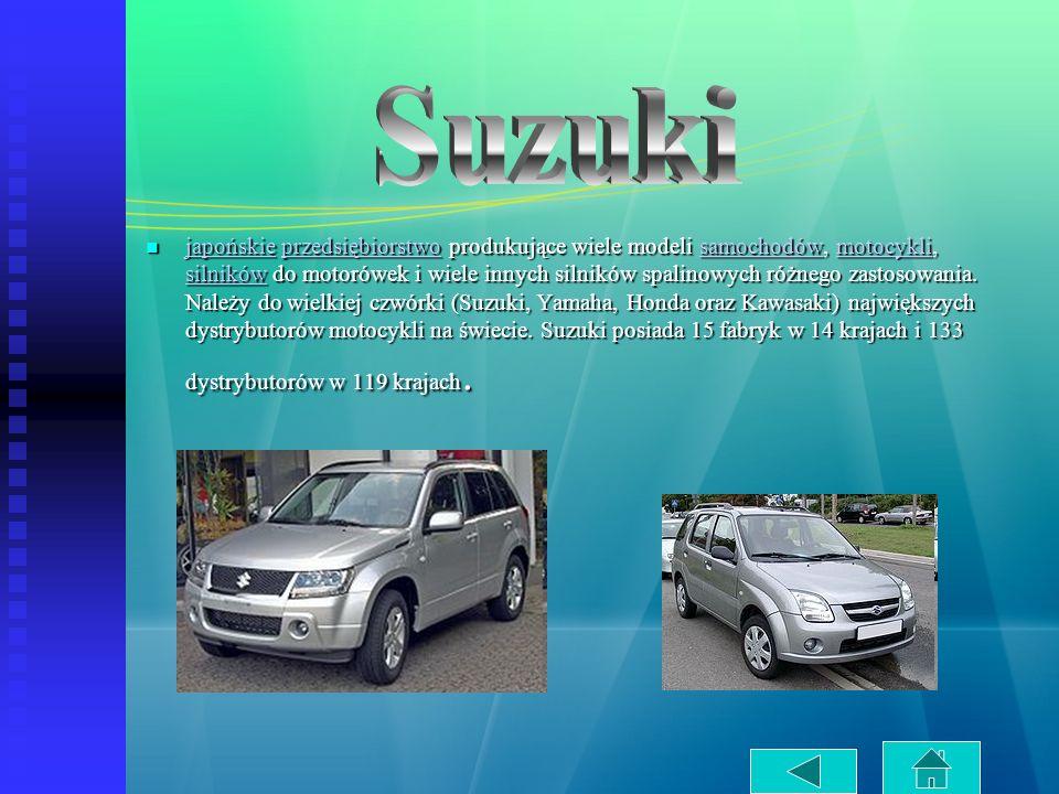 japońskie przedsiębiorstwo produkujące wiele modeli samochodów, motocykli, silników do motorówek i wiele innych silników spalinowych różnego zastosowa