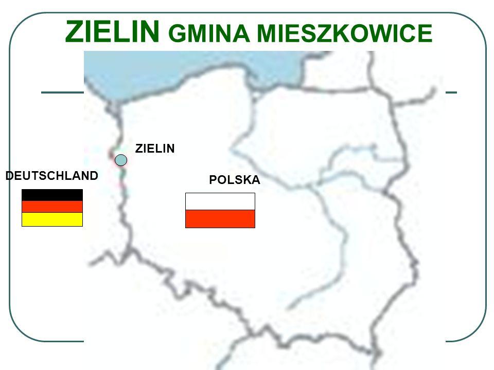 ZIELIN GMINA MIESZKOWICE ZIELIN DEUTSCHLAND POLSKA
