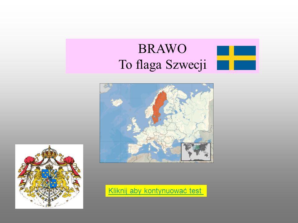 Poniższa flaga należy do: Szwecji Francji Norwegii