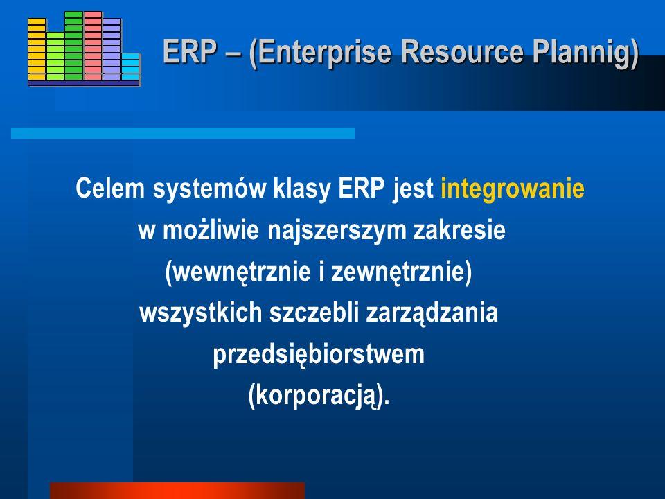 ERP Enterprise Resource Plannig
