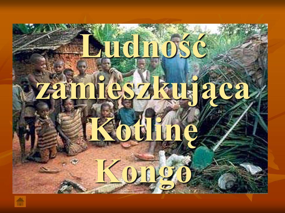 Ludność zamieszkująca Kotlinę Kongo