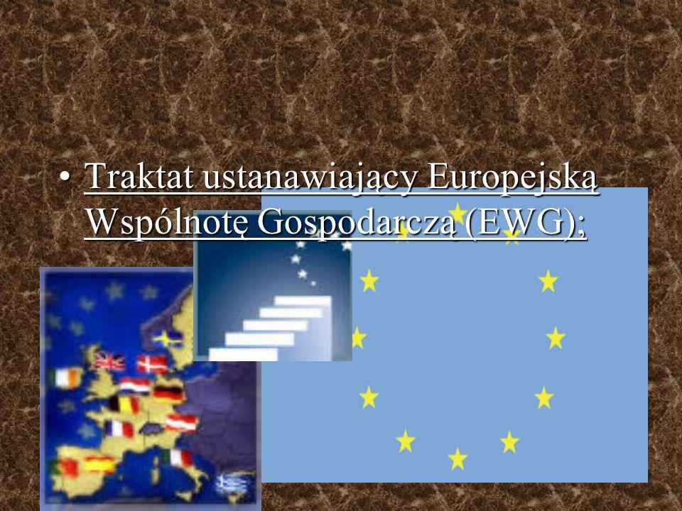 Najważniejsze traktaty Unii Europejskiej
