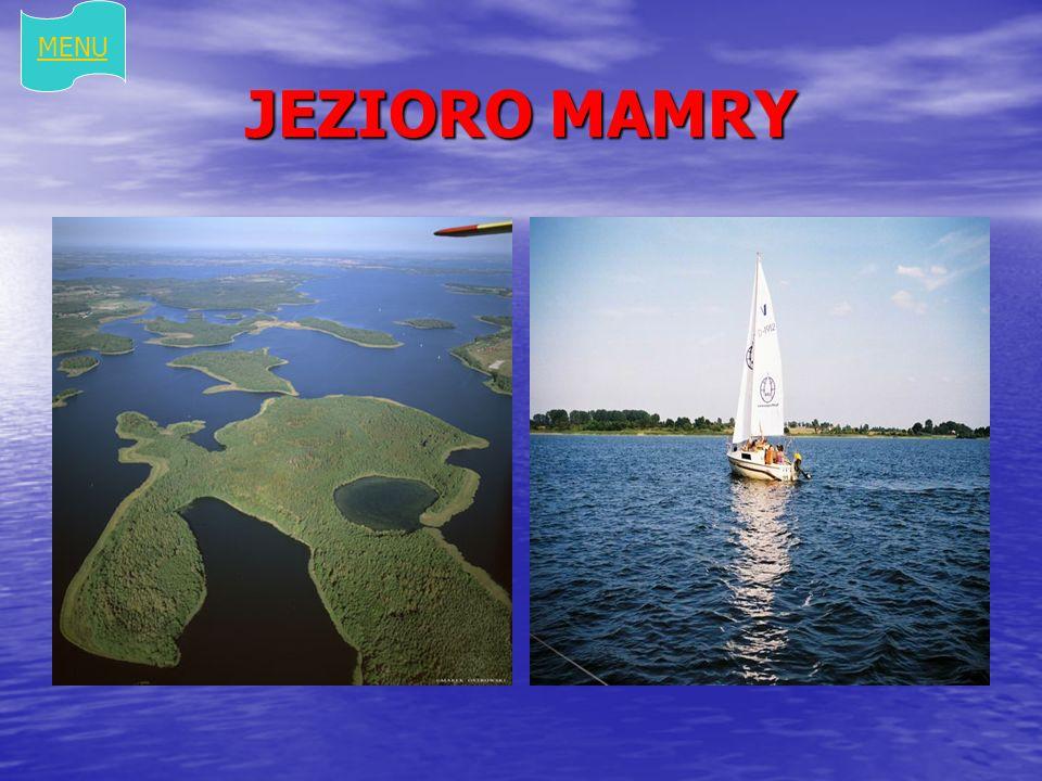 JEZIORO MAMRY MENU