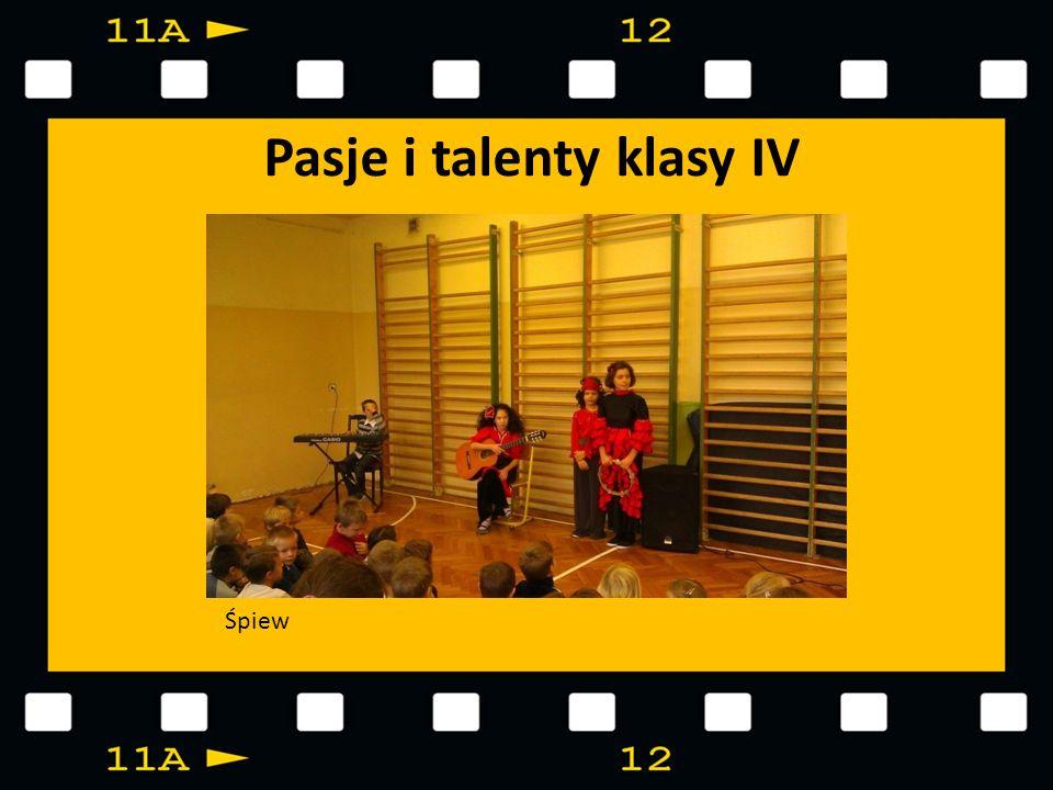 Pasje i talenty klasy IV Śpiew