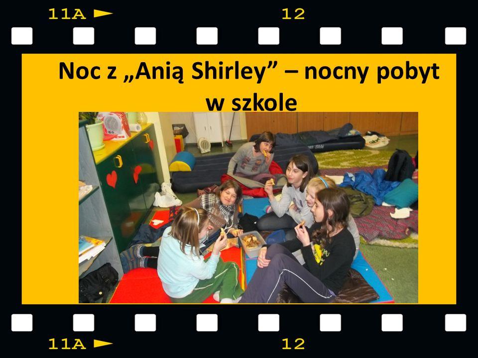 Noc z Anią Shirley – nocny pobyt w szkole