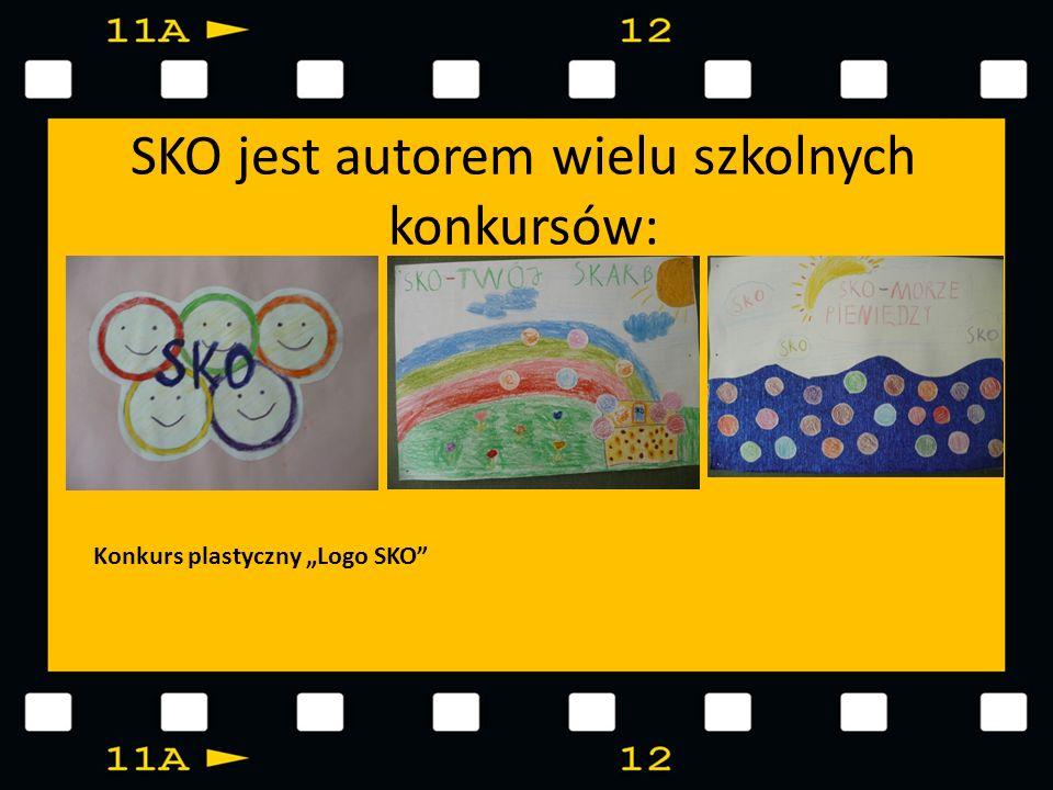 SKO jest autorem wielu szkolnych konkursów: Konkurs plastyczny Logo SKO
