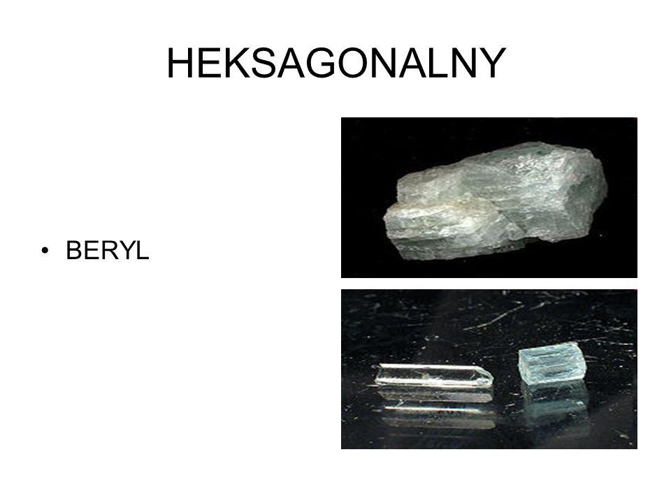 HEKSAGONALNY BERYL