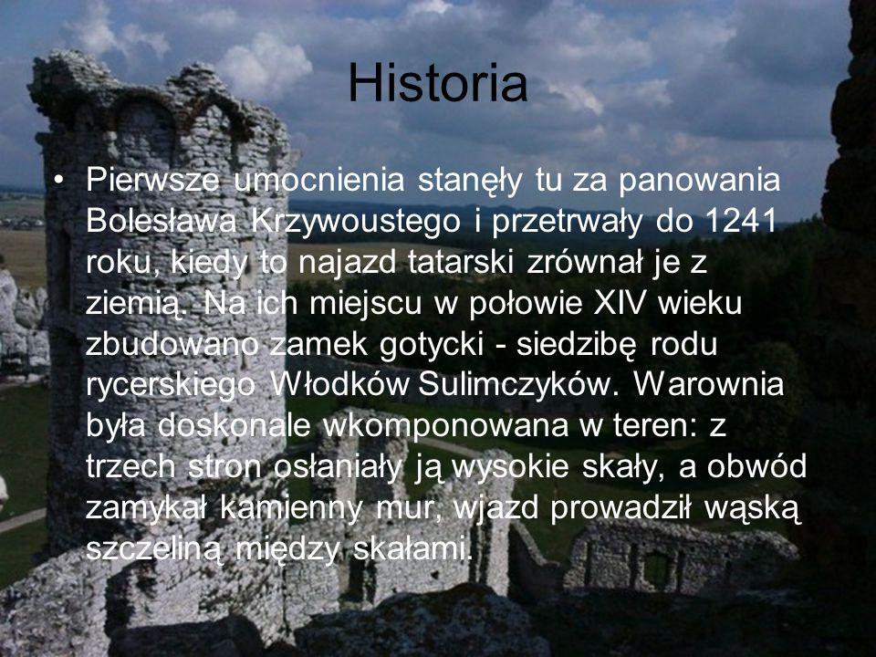 Historia Pierwsze umocnienia stanęły tu za panowania Bolesława Krzywoustego i przetrwały do 1241 roku, kiedy to najazd tatarski zrównał je z ziemią.