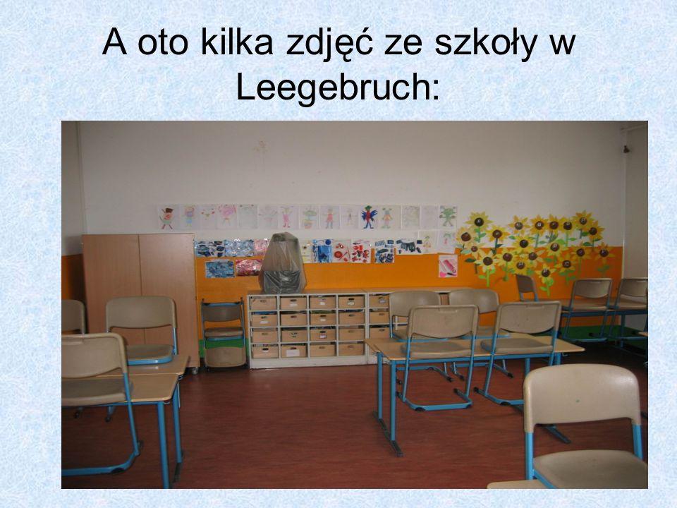 Ramowy plan pobytu dzieci w Leegebruch Dzień pierwszyPrzyjazd, spotkanie z uczniami i rodzinami w szkole.