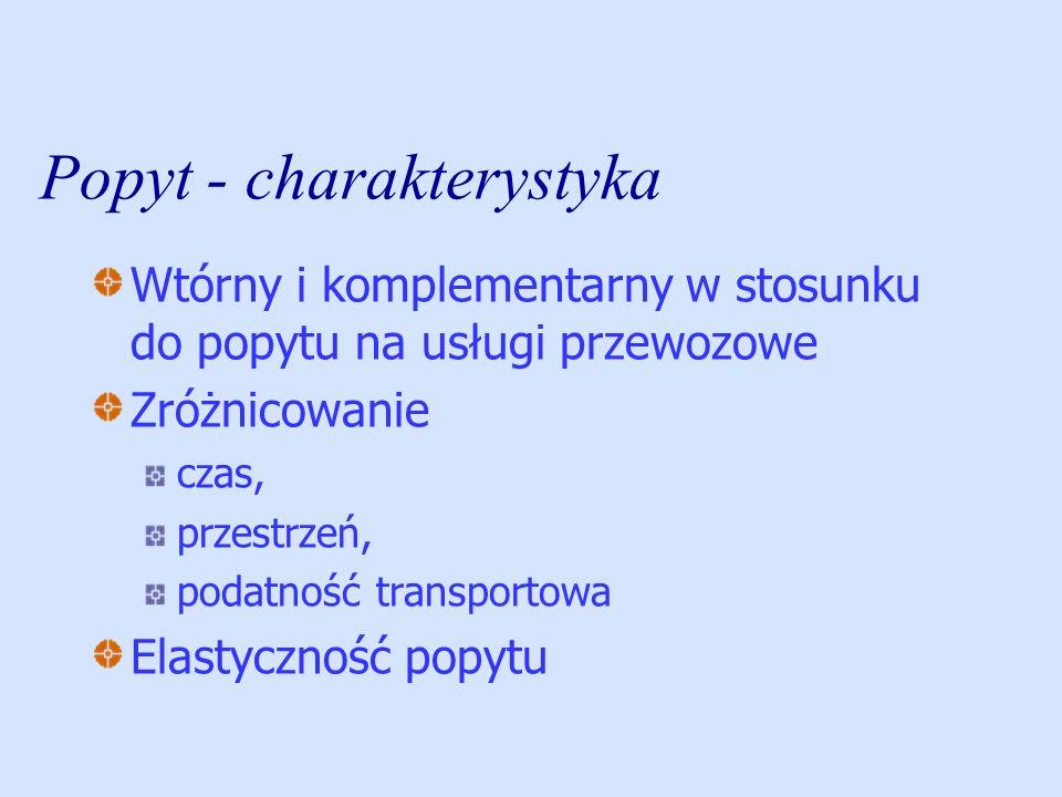 Cechy rynku spedycyjnego w Polsce rozdrobniony dominują firmy mające jeden środek transportu; brak kapitału do PSiL należą spedytorzy międzynarodowi mający siedzibę w portach; konkurencja cenowa; tylko kilka firm może być operatorami; niechęć do współdziałania i koncentracji Słaba organizacja świadczenia usług (brak oddziałów i przedstawicielstw w UE) Brak wiedzy, strategicznego myślenia, przygotowania do zmian podspedycja.