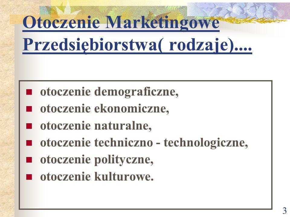 2 Konieczność Badania Otoczenia Marketingowego: z punktu widzenia interesów przedsiębiorstwa z punktu widzenia interesów otoczenia marketingowego ze w