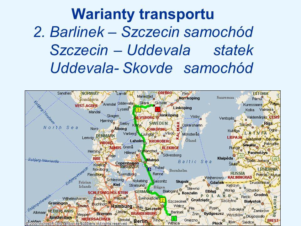 Warianty transportu 3.