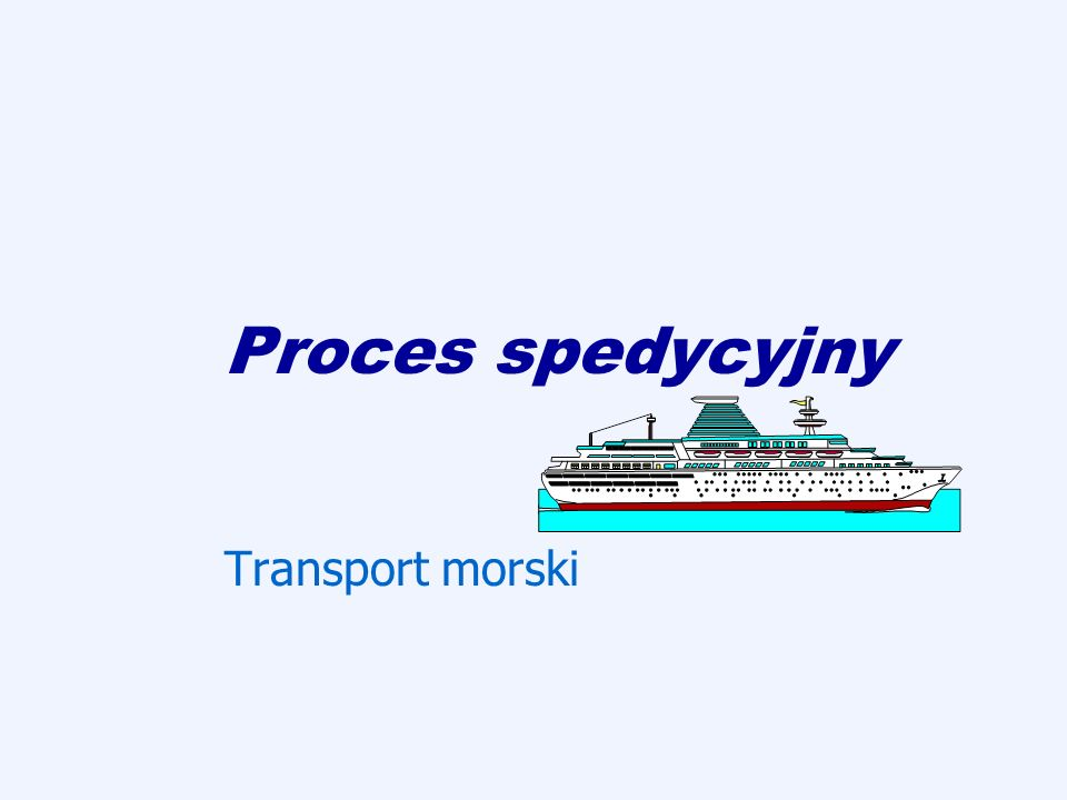 Regulamin przewozu przesyłek (RPT) PKP Cargo S.A.