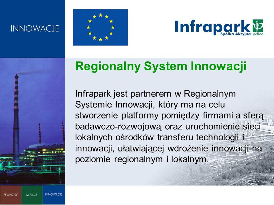 Regionalny System Innowacji Infrapark jest partnerem w Regionalnym Systemie Innowacji, który ma na celu stworzenie platformy pomiędzy firmami a sferą