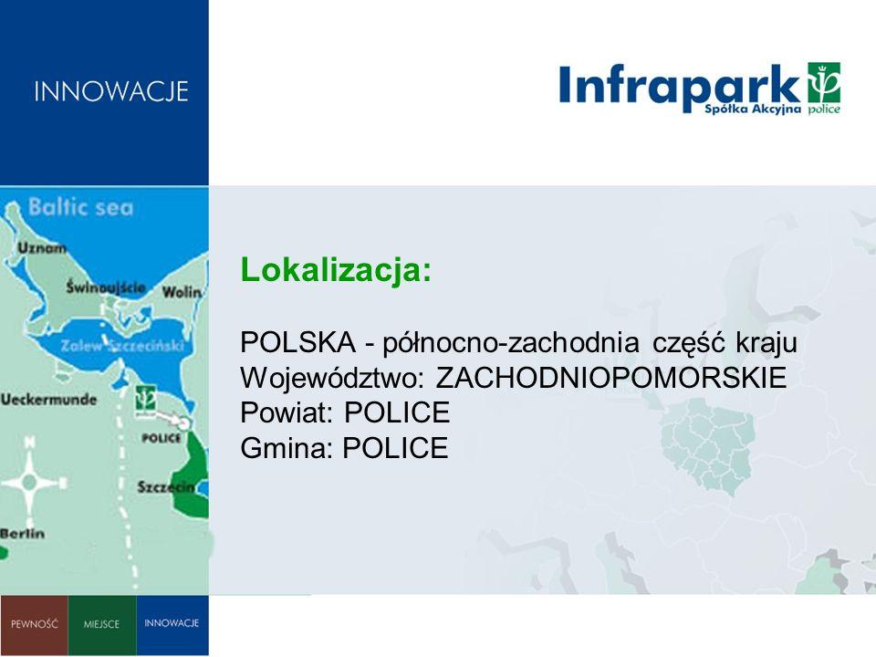 Akcjonariuszami INFRAPARKU Police S.A.są: Zakłady Chemiczne POLICE S.A.