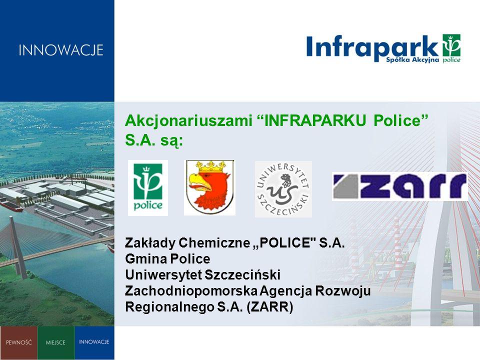Przestrzeń inwestycyjna: Grunty są wnoszone do firmy etapami przez Z.Ch.Police S.A.