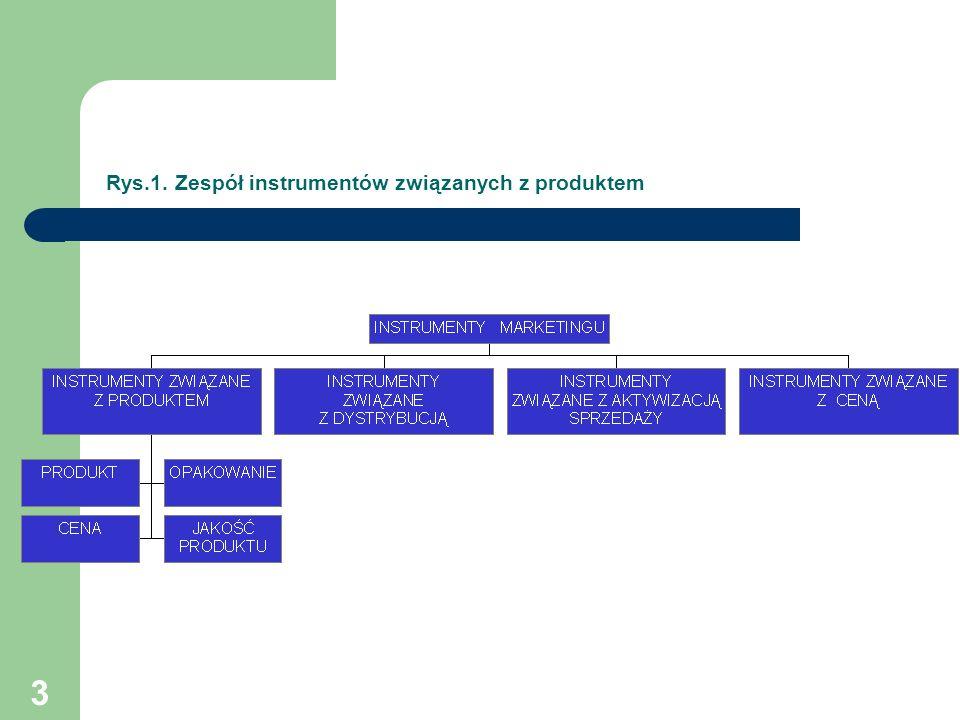 3 Rys.1. Zespół instrumentów związanych z produktem
