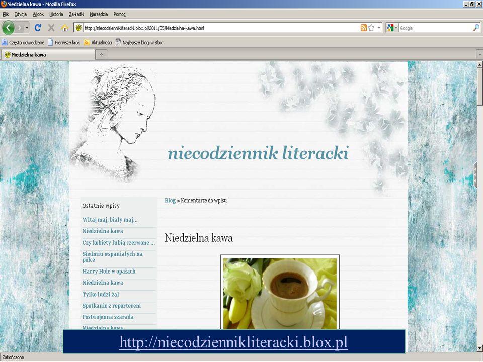15 http://niecodziennikliteracki.blox.pl