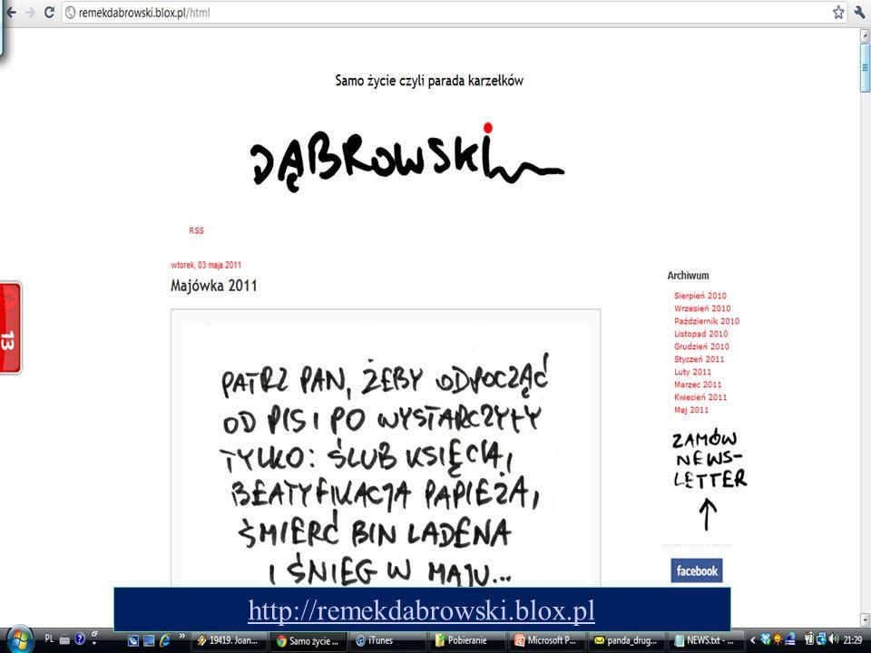 19 http://remekdabrowski.blox.pl