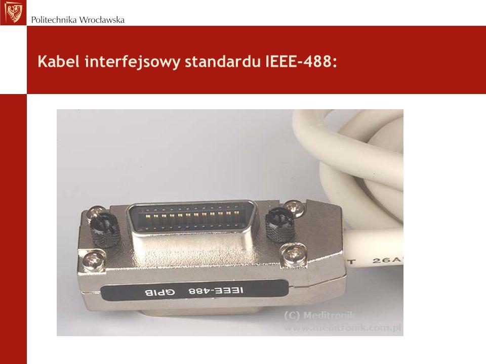 Kabel interfejsowy standardu IEEE-488: