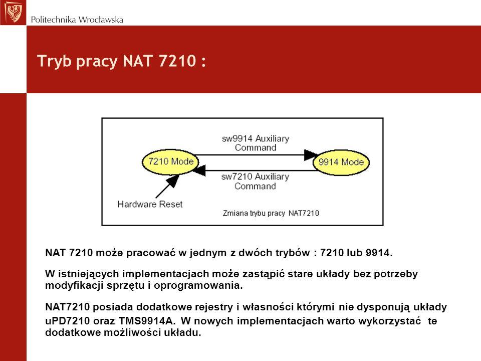 Układ SN75161 – obsługa linii DAV, NRFD i NDAC :