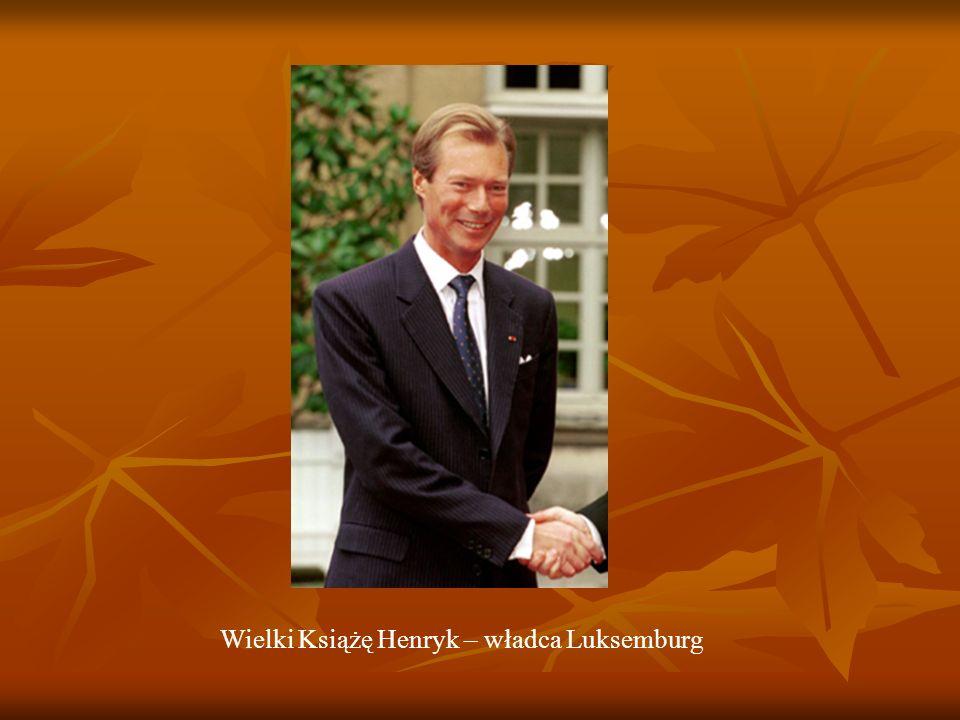 Wielki Książę Henryk – władca Luksemburg