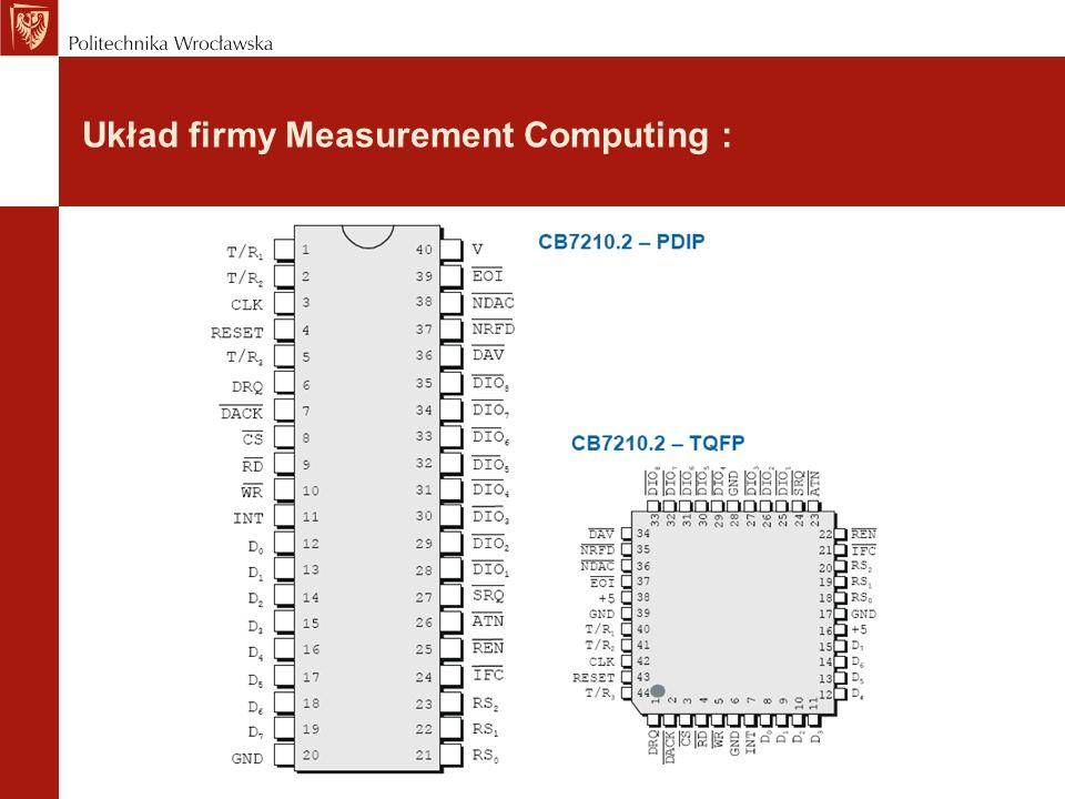 Układ firmy Measurement Computing :