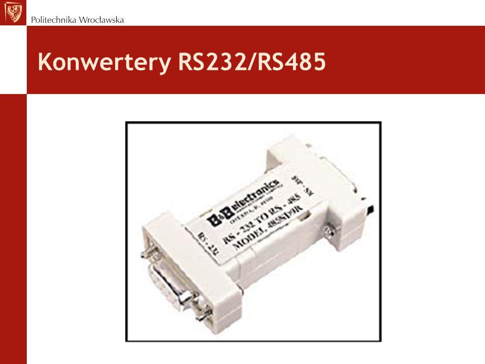 Konwertery RS232/RS485