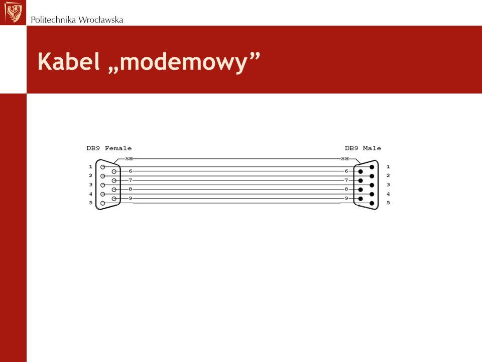Kabel modemowy