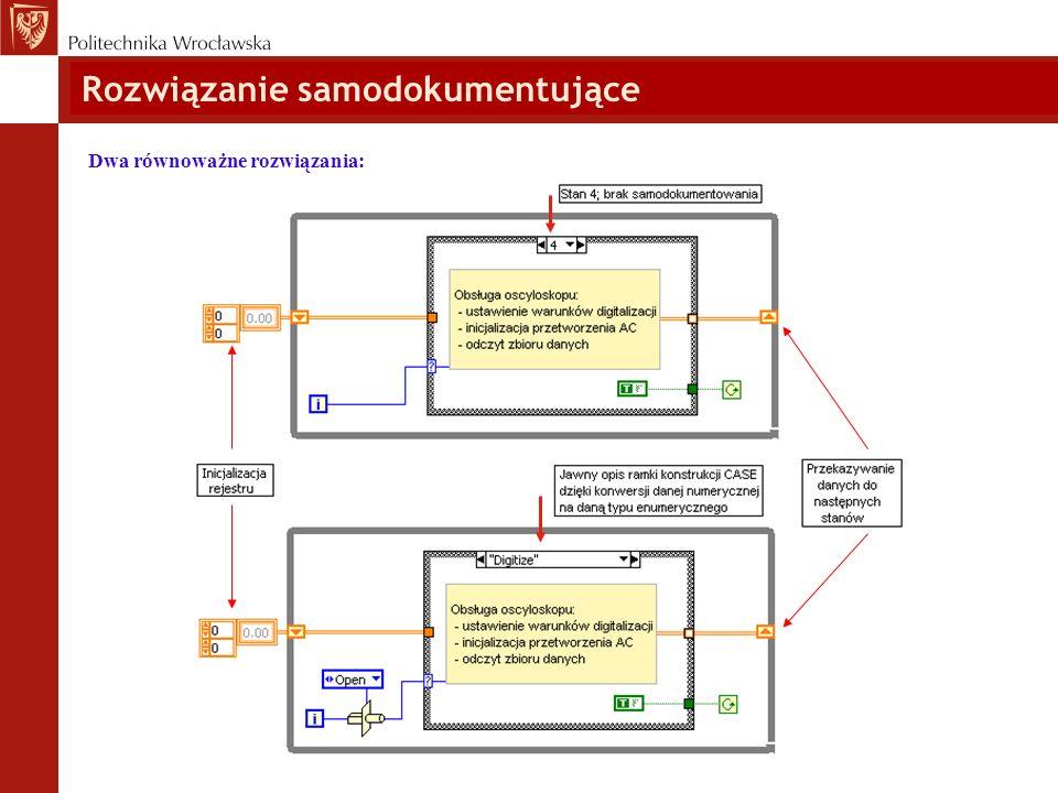 Rodzaje wykonania automatów skończonych: Najczęściej spotykane rozwiązania : Automat skończony w modelu sekwencyjnym; sekwencyjna realizacja listy stanów.