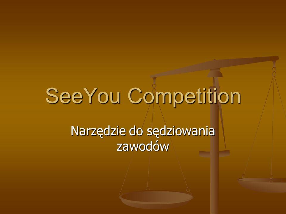 SeeYou Competition Narzędzie do sędziowania zawodów