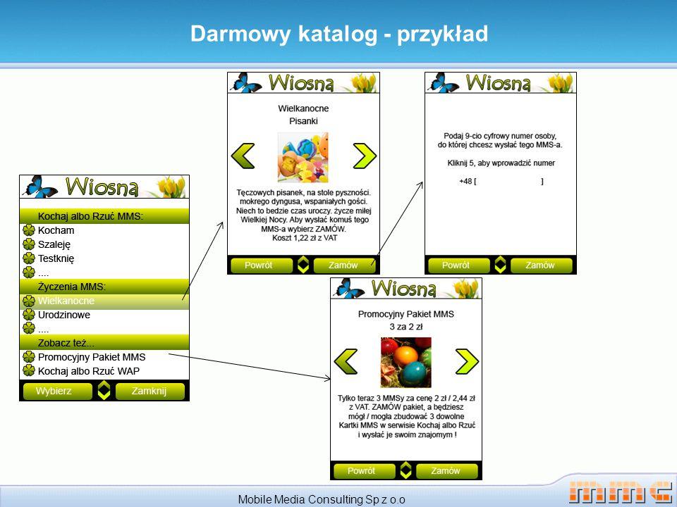 Mobile Media Consulting Sp z o.o Darmowy katalog - przykład