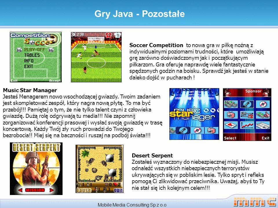 Mobile Media Consulting Sp z o.o Soccer Competition to nowa gra w piłkę nożną z indywidualnymi poziomami trudności, które umożliwiają grę zarówno doświadczonym jak i początkującym piłkarzom.