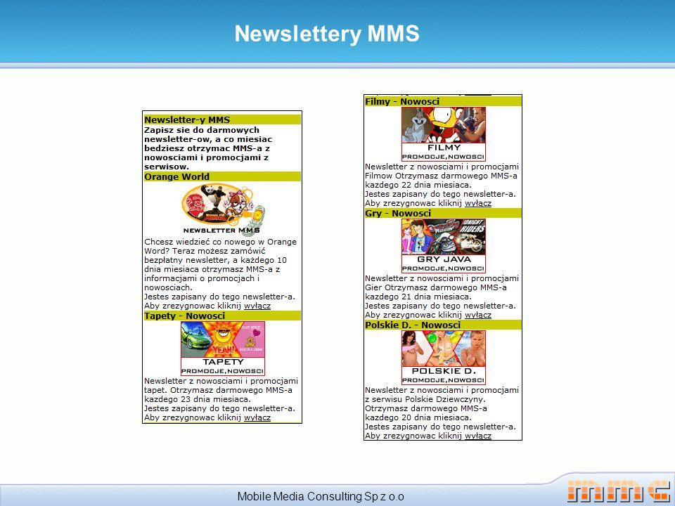 Serwis z kontentem – Podsumowanie Mobile Media Consulting Sp z o.o Zawsze świeży i aktualny kontent ( elementy polecane, nowości, itp.