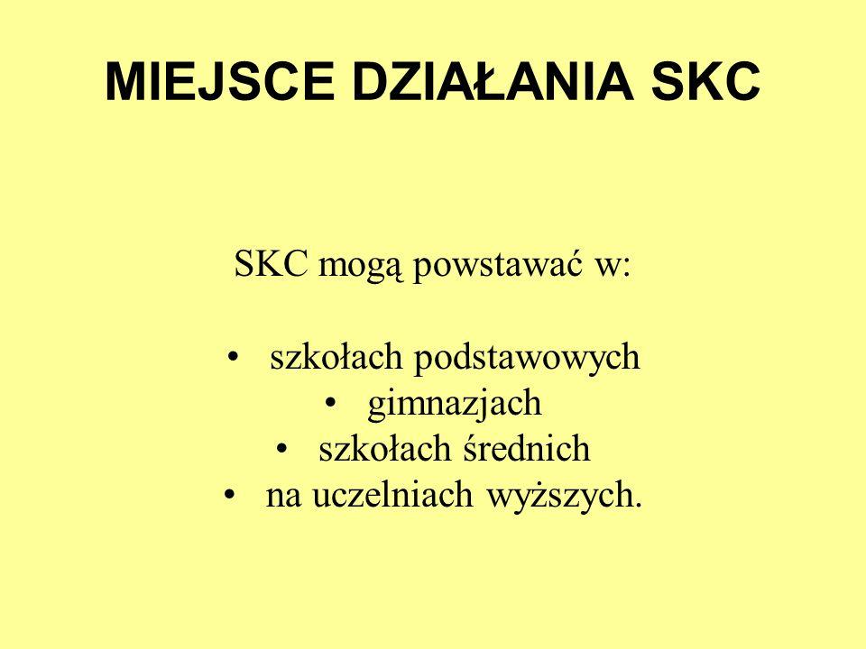Prezentacja działań SKC Szkoły Podstawowej w Nowogrodzie Bobrzańskim