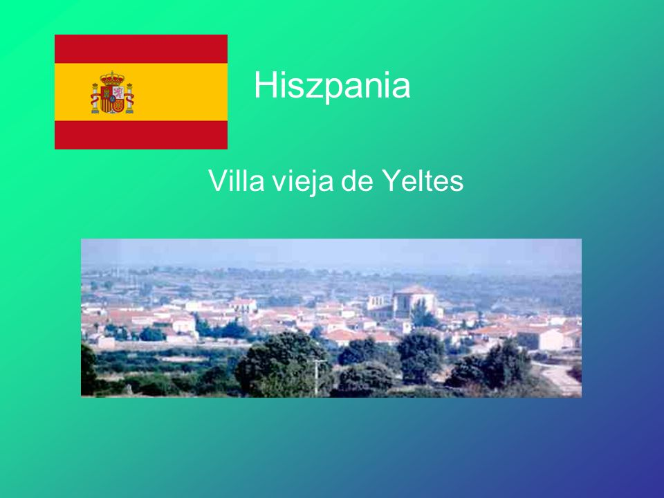 Hiszpania Villa vieja de Yeltes