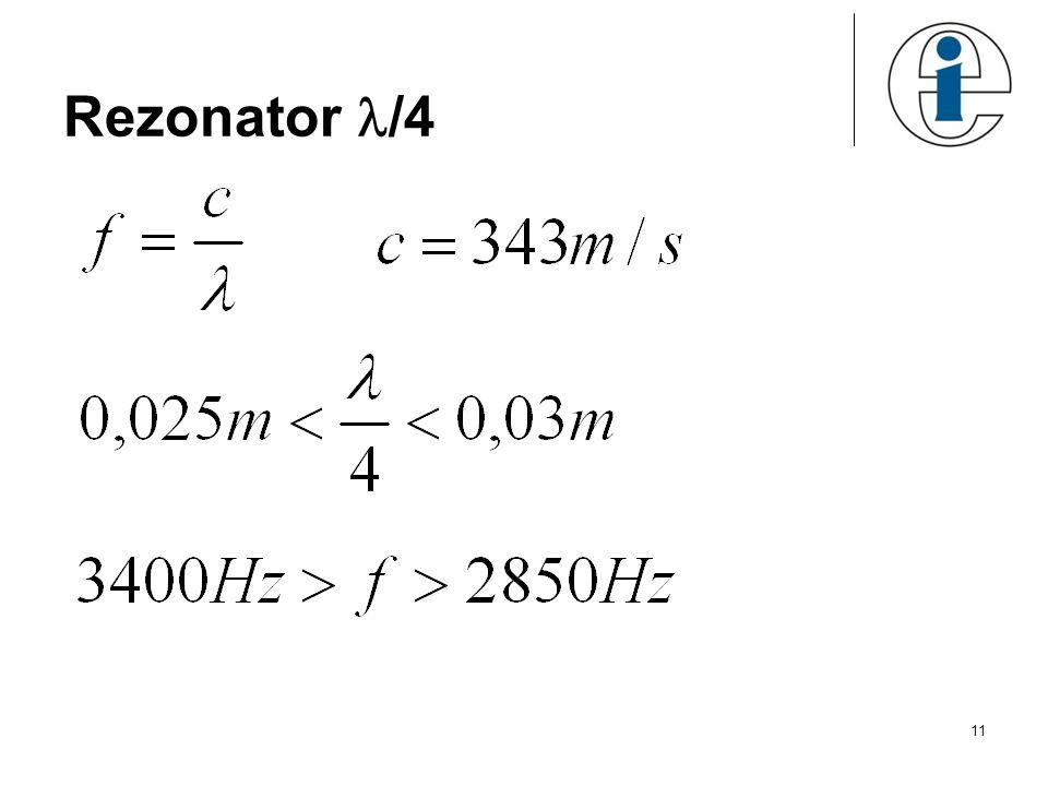 11 Rezonator /4