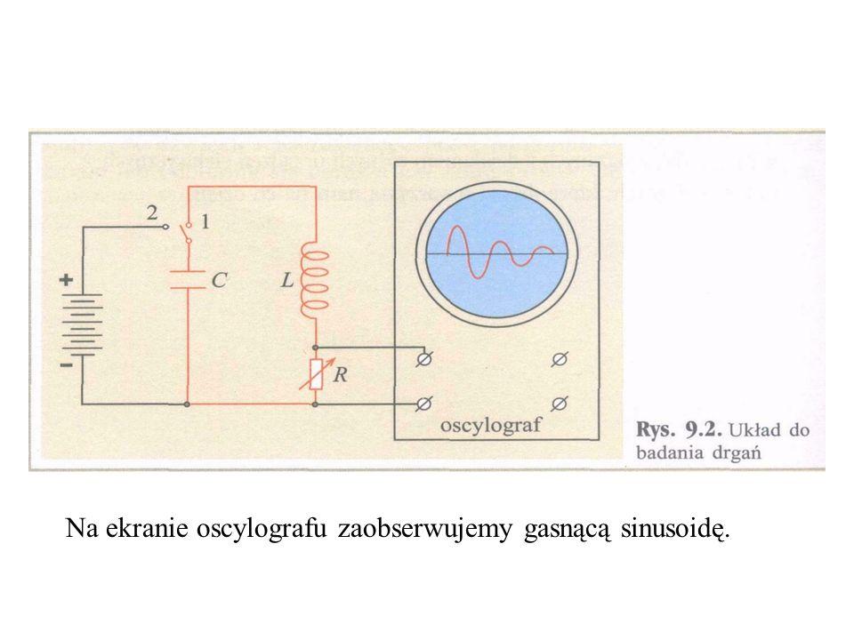 Oscylograf – zbudowany z lampy oscylograficznej.